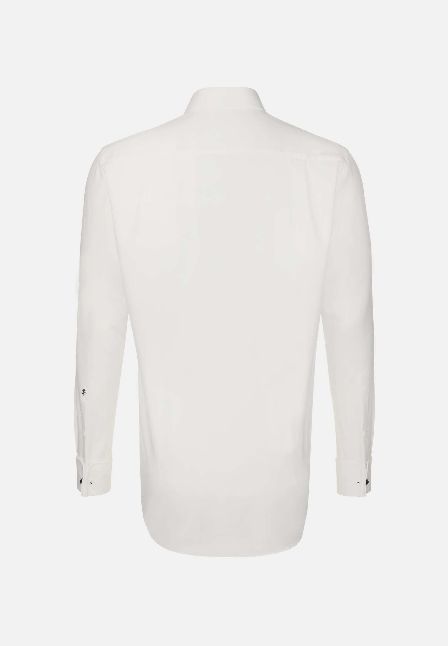 Non-iron Poplin Business Shirt in Regular with Kent-Collar in Braun |  Seidensticker Onlineshop