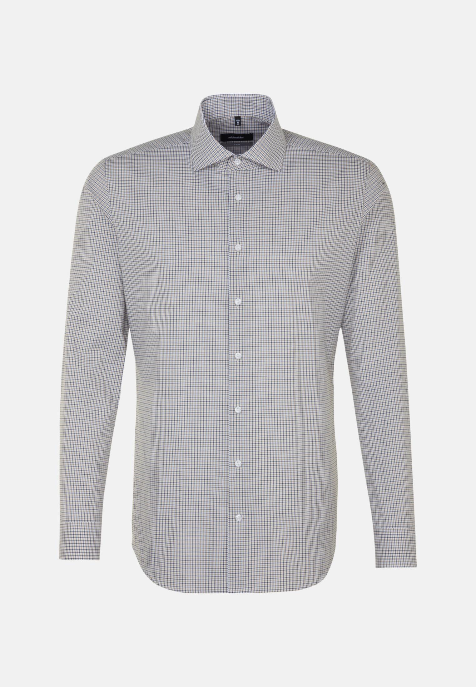 Non-iron Poplin Business Shirt in X-Slim with Kent-Collar in Yellow |  Seidensticker Onlineshop