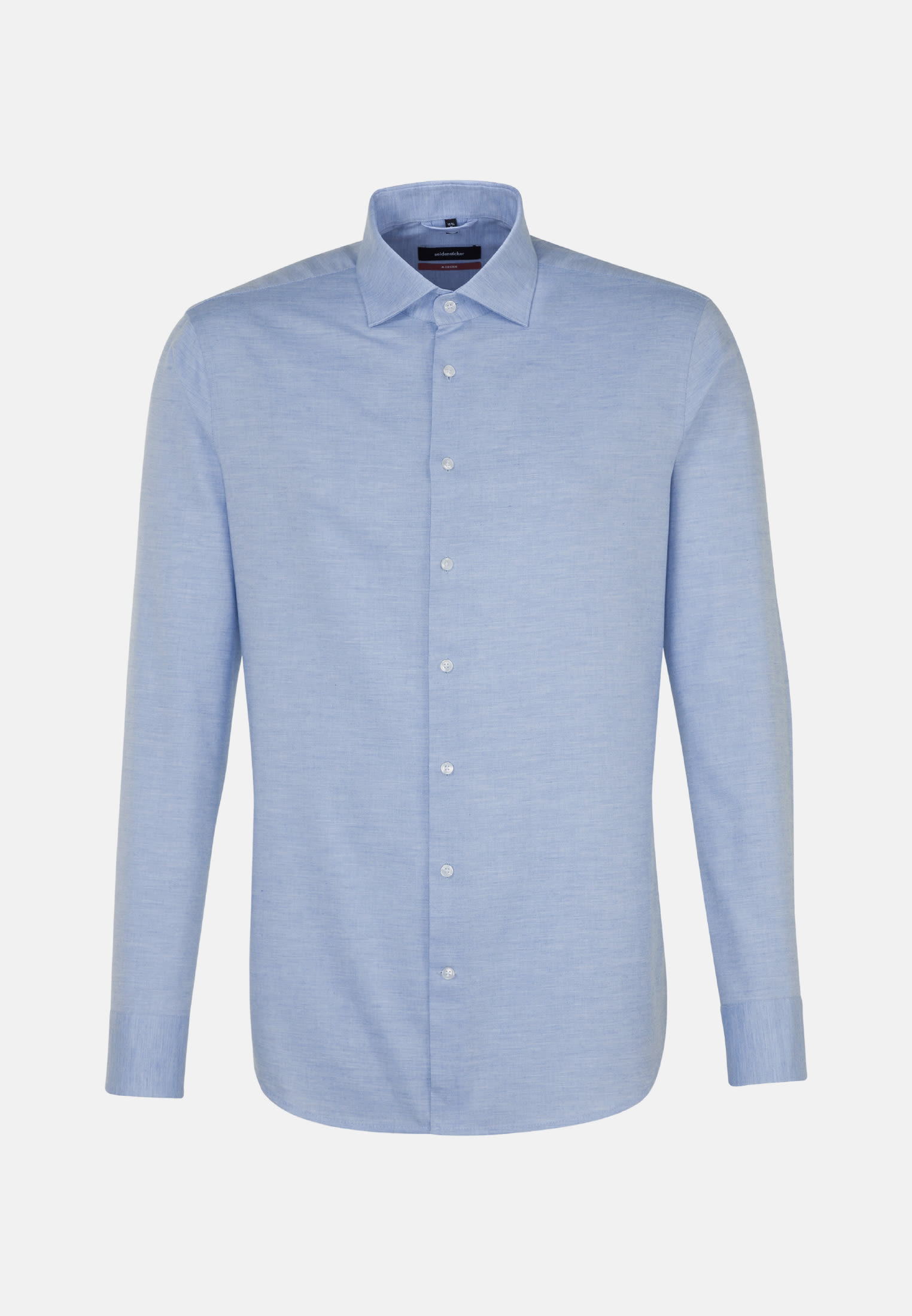 Easy-iron Twill Business Shirt in Modern with Kent-Collar in Light blue |  Seidensticker Onlineshop