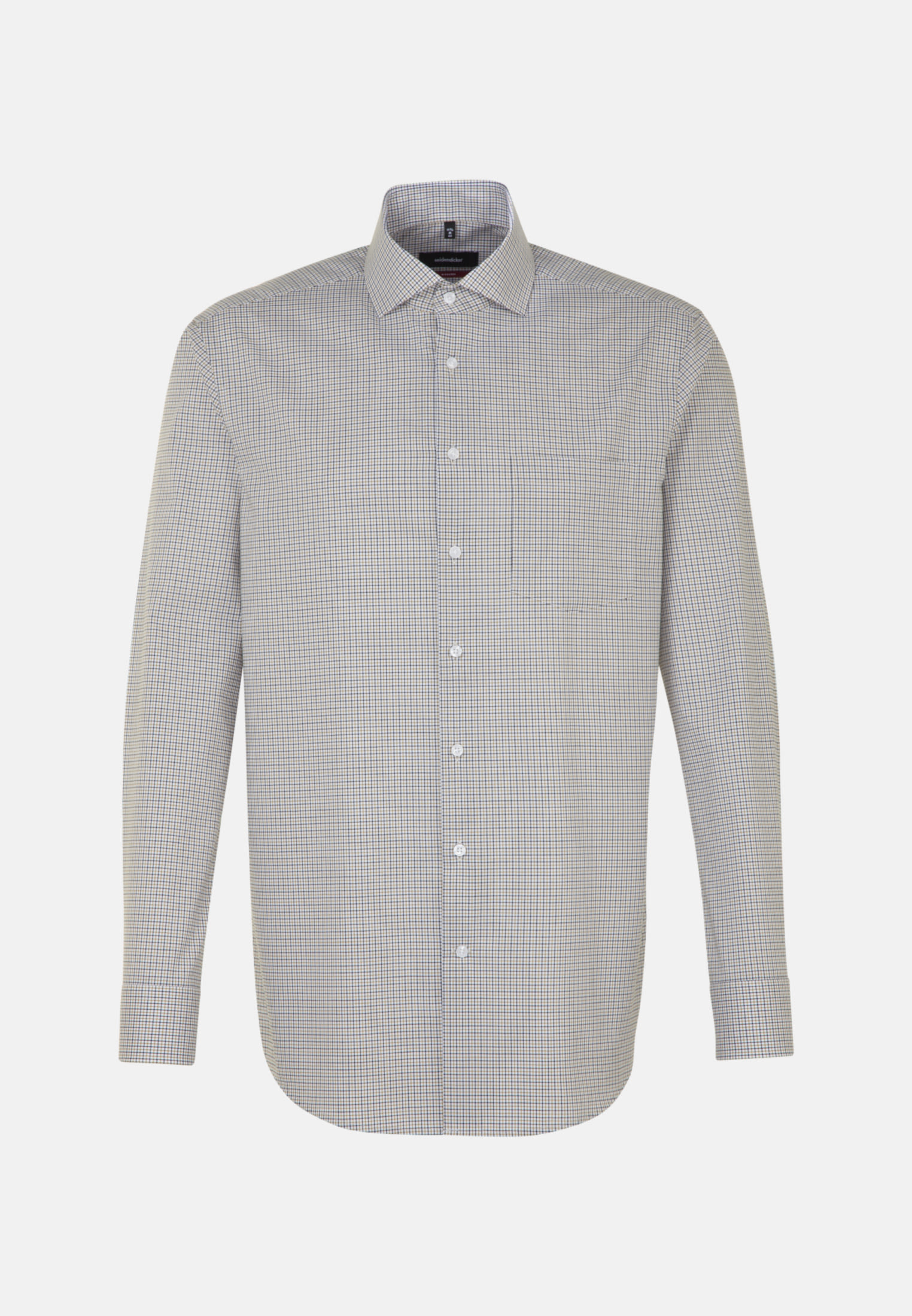 Non-iron Poplin Business Shirt in Modern with Kent-Collar in Yellow |  Seidensticker Onlineshop