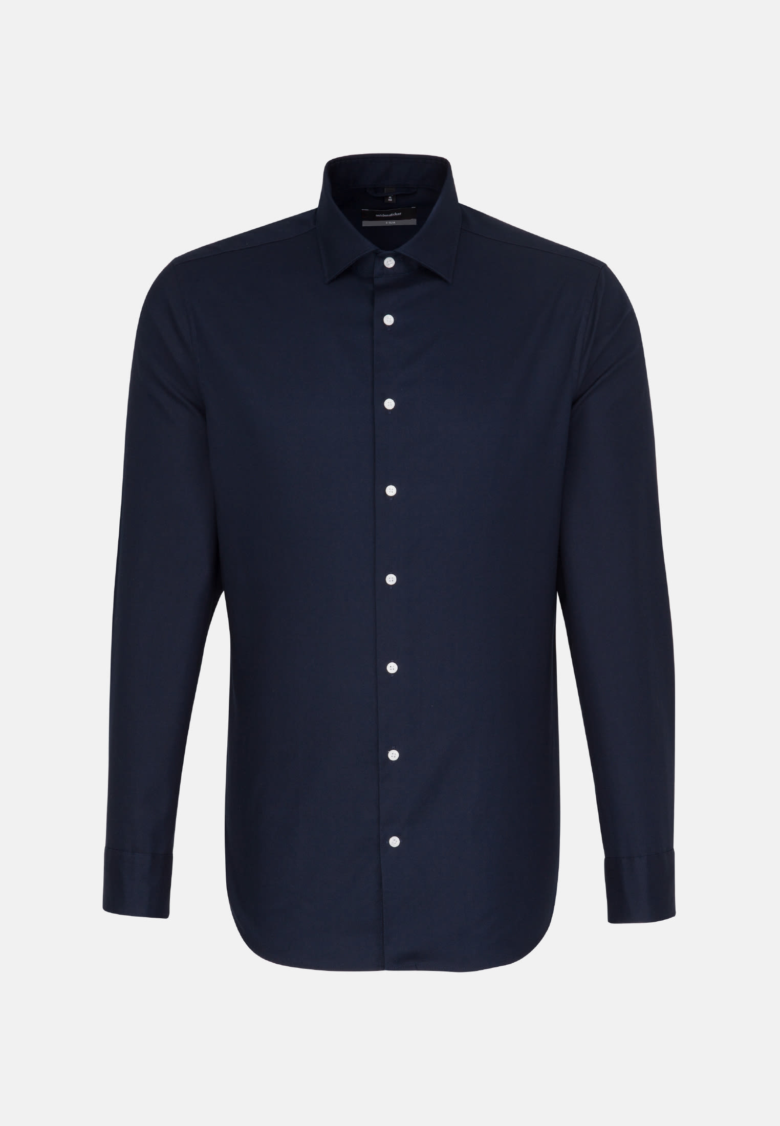 Easy-iron Twill Business Shirt in X-Slim with Kent-Collar in blau |  Seidensticker Onlineshop
