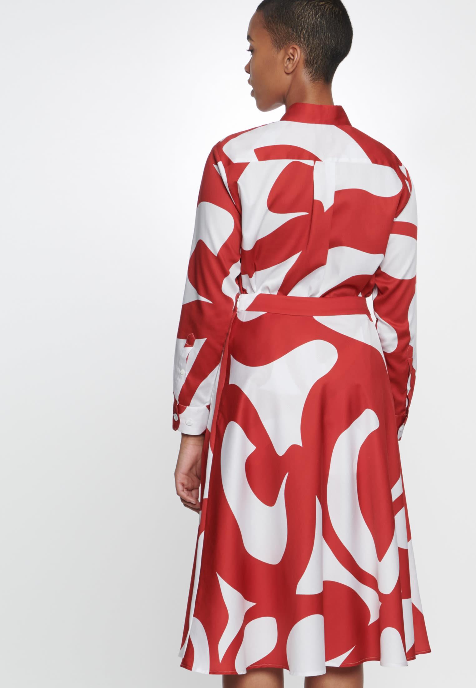 Satin Rock aus 100% Baumwolle in Rot |  Seidensticker Onlineshop