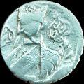 سکه نیم قران تصویری ناصر الدین شاه