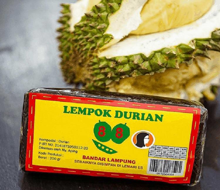 Lempok Durian Khas Lampung