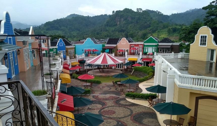 Miniatur Eropa di Lampung