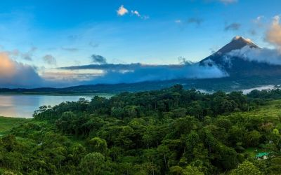 Arenal Volcano National Park in Costa Rica