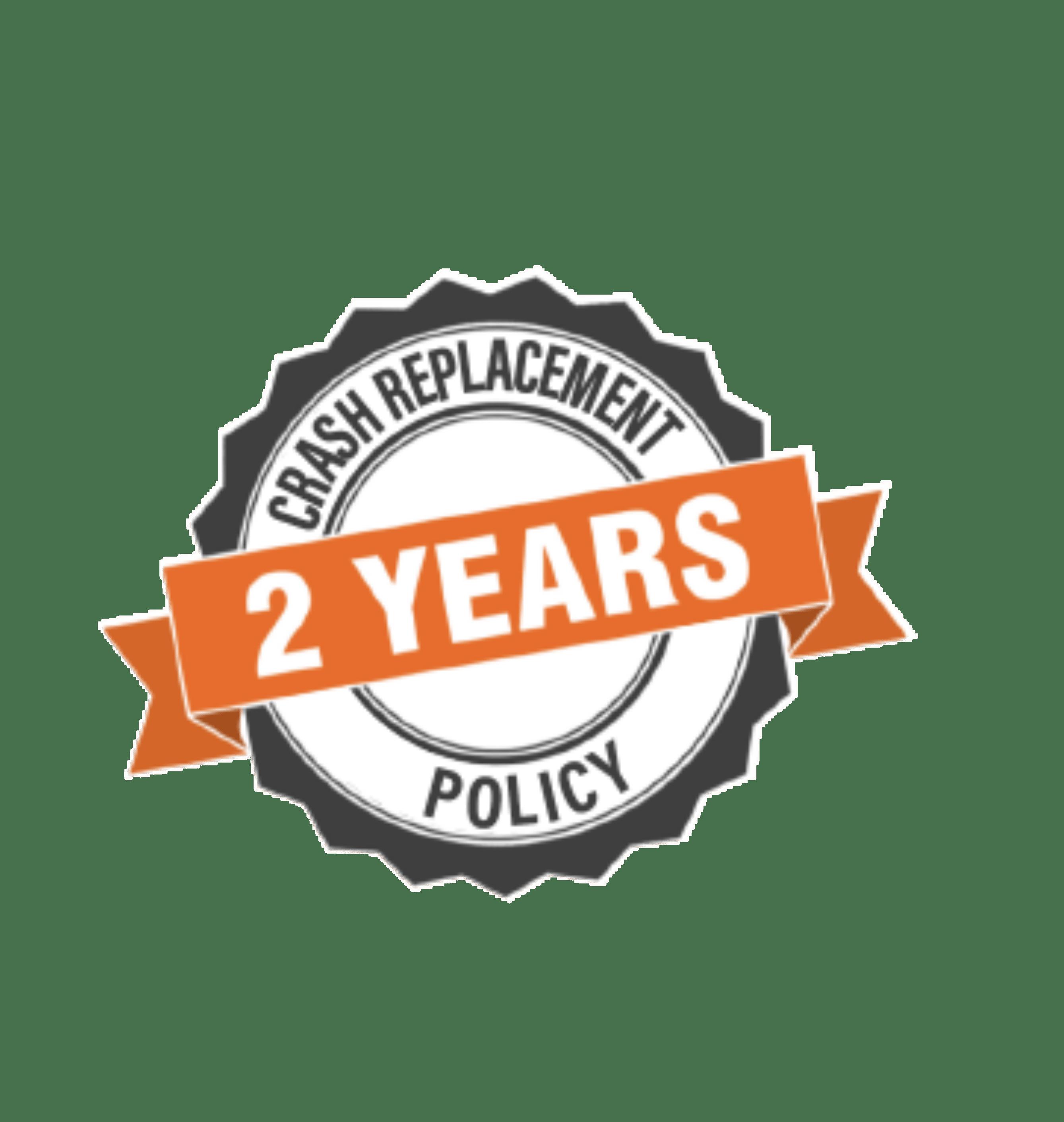Póliza de reemplazo por accidente de 2 años