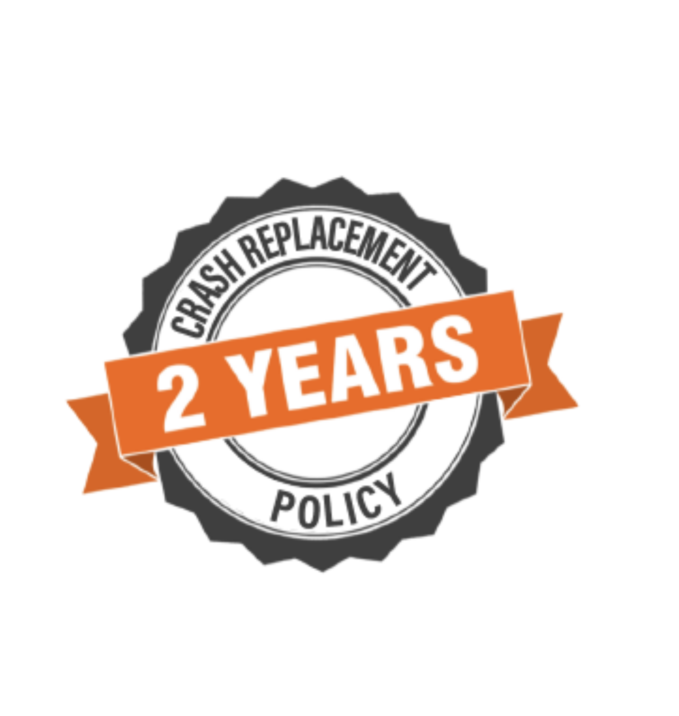 2 years crash replacement policy