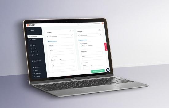 Sendifys nya funktioner för bokning av transportföretag och frakt online