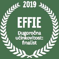 EFFIE 2019 Dugoročna učinkovitost: finalist