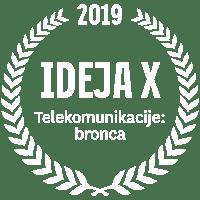IDEJA X 2019 Telekomunikacije: bronca
