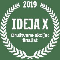 IDEJA X Društvene akcije: finalist