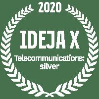 Ideja X Telecommunications: silver