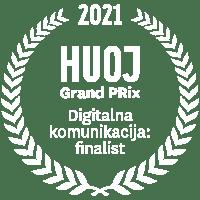 HUOJ Grand PRix: Digitalna komunikacija: finalist