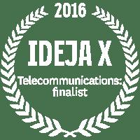 Ideja X Telecommunications: finalist