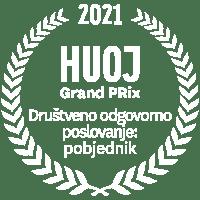 HUOJ Grand Prix Društveno odgovorno poslovanje: pobjednik