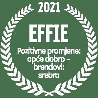 EFFIE 2021 Pozitivne promjene: opće dobro – brendovi: srebro