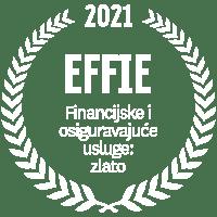 EFFIE 2021 Financijske i osiguravajuće usluge: zlato