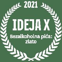 IdejaX 2021 Bezalkoholna pića: zlato