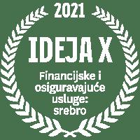 IdejaX 2021 Financijske i osiguravajuće usluge: srebro
