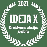 IdejaX 2021 Društvene akcije: srebro