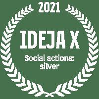IdejaX 2021 Social actions: silver