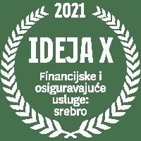 Ideja X 2021 Financije i osiguravajuća društva: srebro