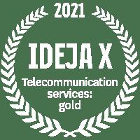 IdejaX Telecommunications: gold