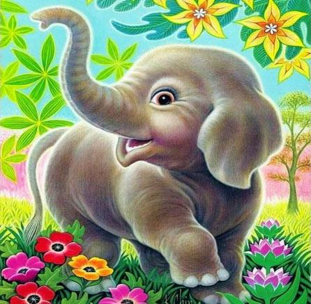 L'elefante incatenato e la floriterapia: il nesso c'è, anche se non si vede.