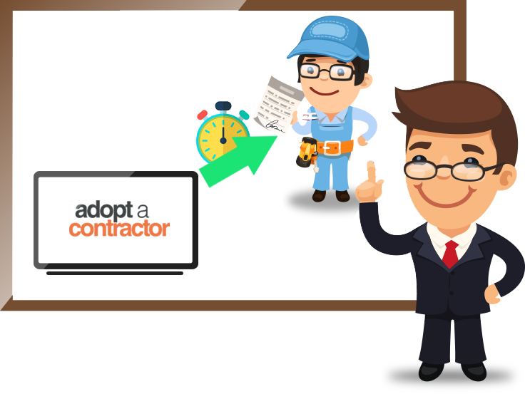 Pros: Real-Time Requests To You From Adopt A Contractor