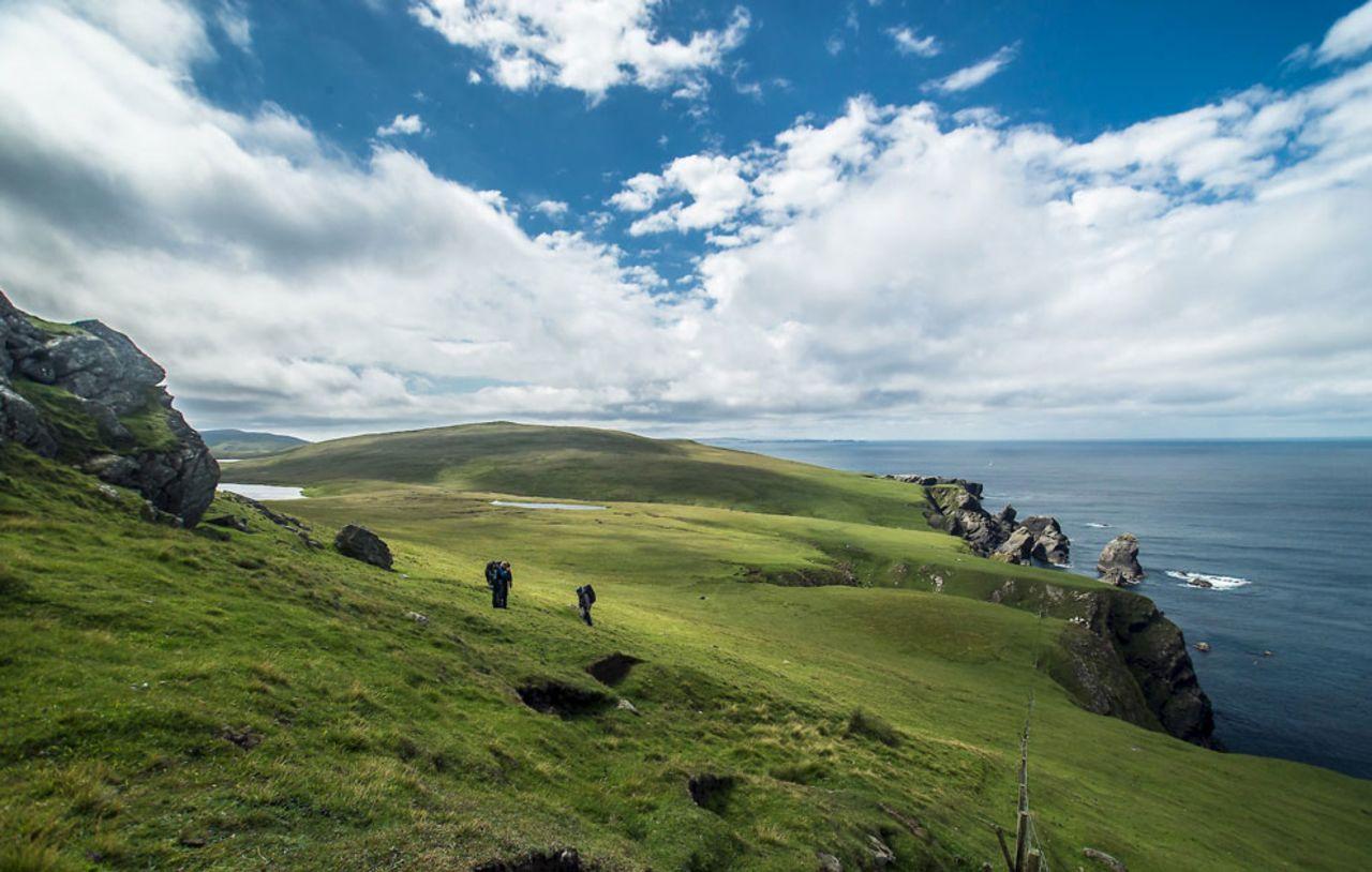 Foula, Écosse
