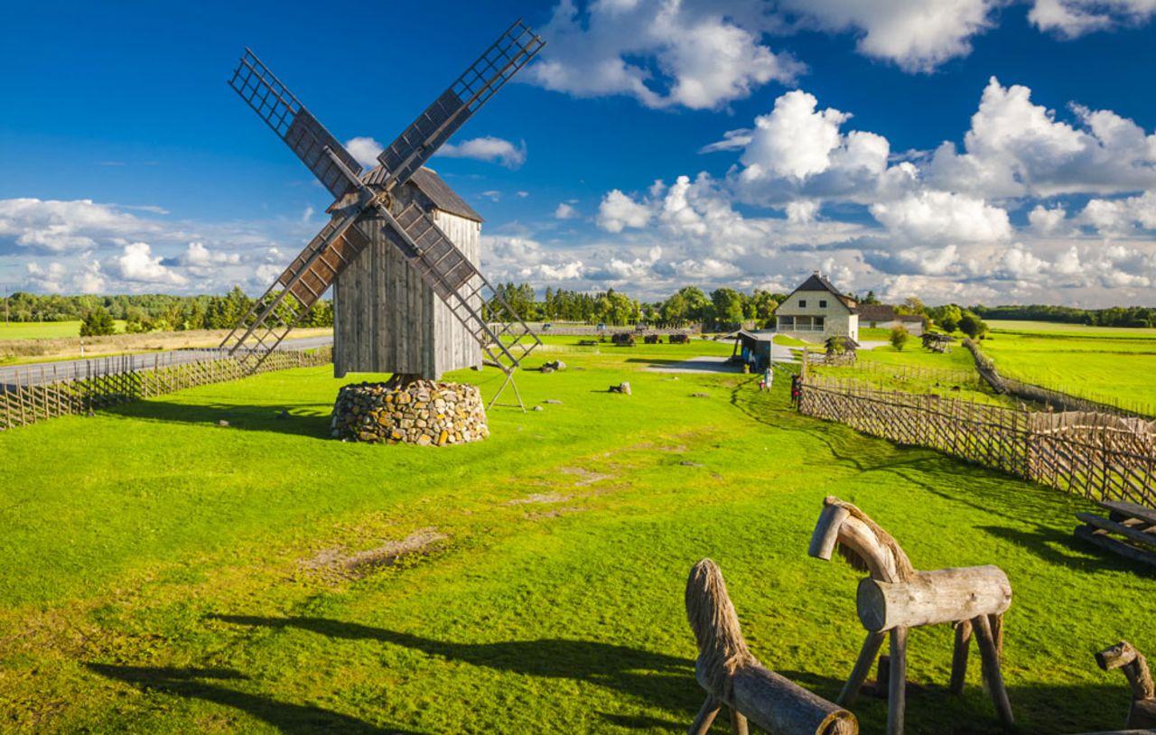 Saaremaa, Estonie