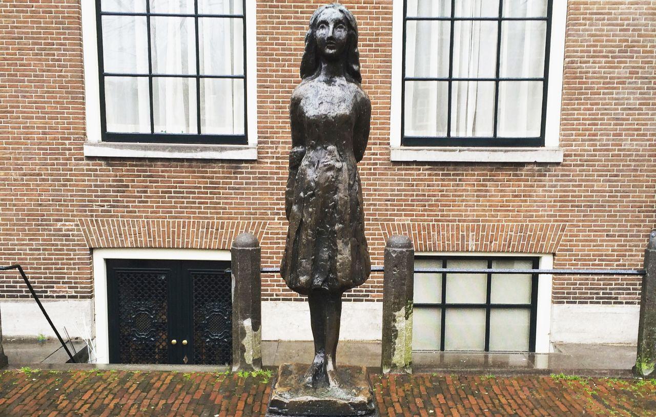 Visite à la maison d'Anne Frank