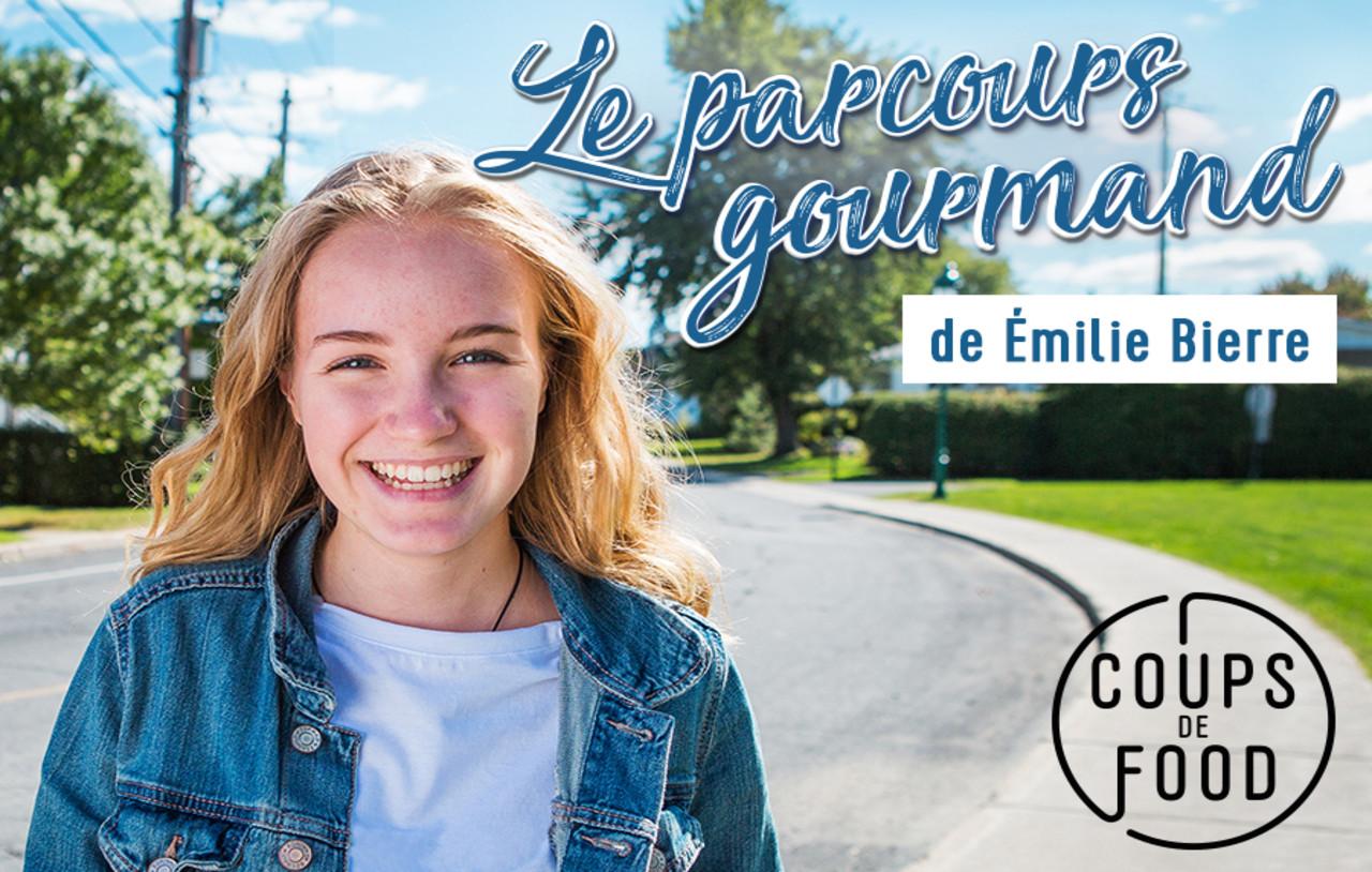 La parcours gourmand d'Émilie Bierre