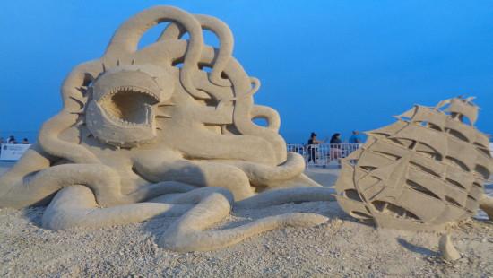 Chefs-d'oeuvre de sable