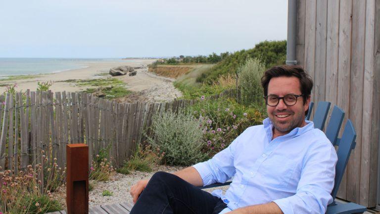 Benoit à la plage