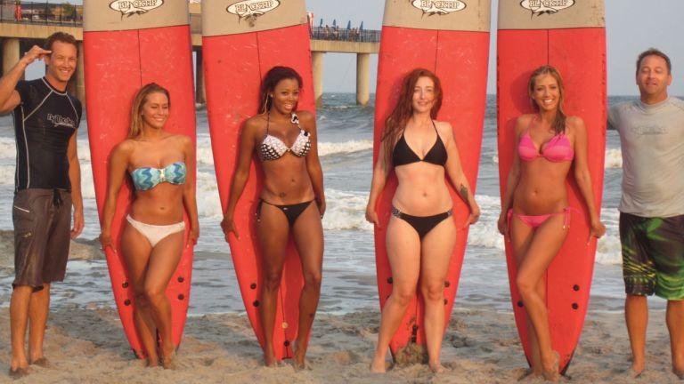Bikinis et bords de mer