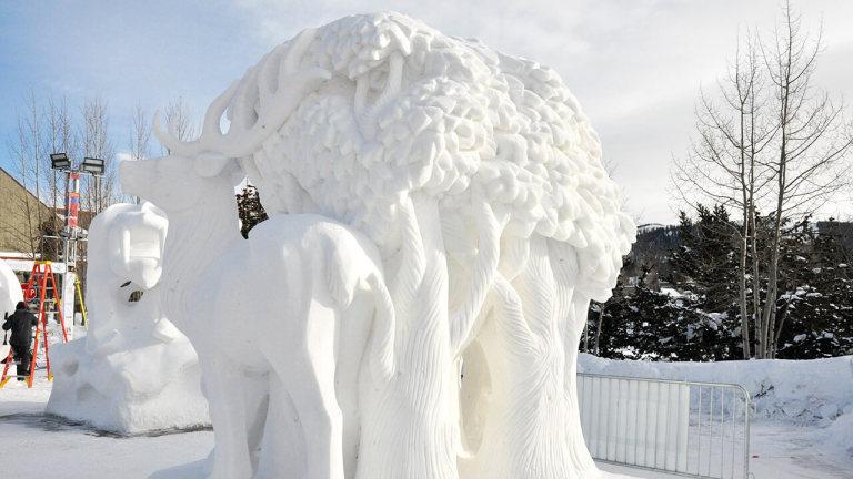Chefs-d'oeuvre de neige