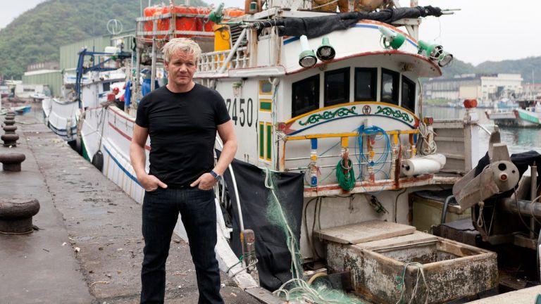 Gordon Ramsay : Requins en pril