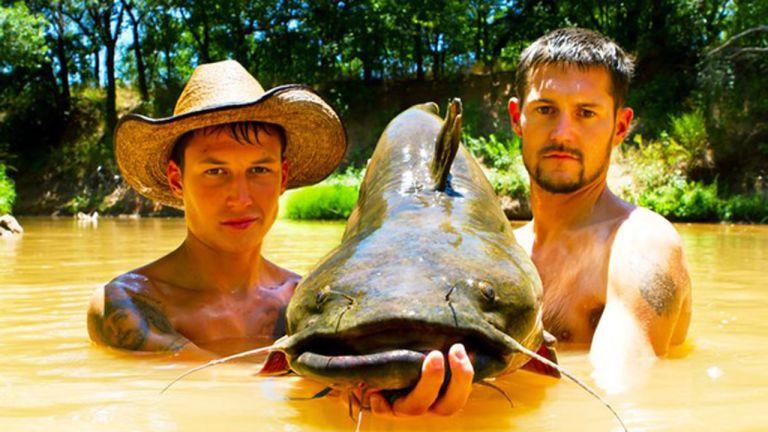 Pêcheurs à mains nues