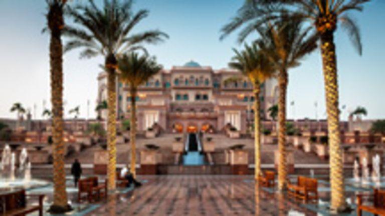 Émirates Palace, Abu Dhabi