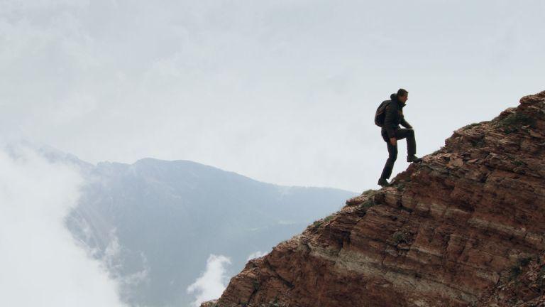 Perdu en montagne