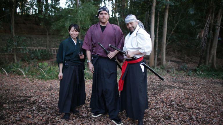 Les lames des Samourais