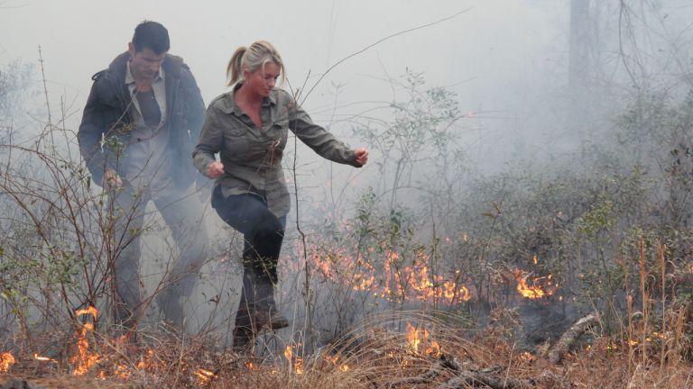 Tempête de feu en Louisiane