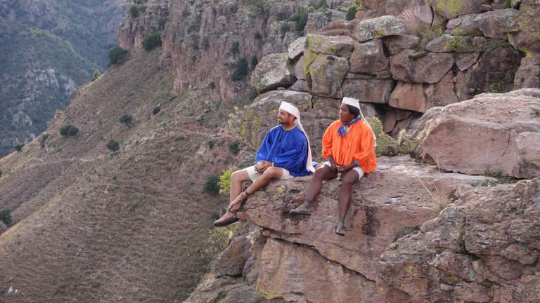 Les coureurs de canyons