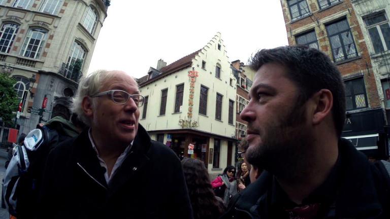 Les aventures de Monsieur Gluzicki en Belgique