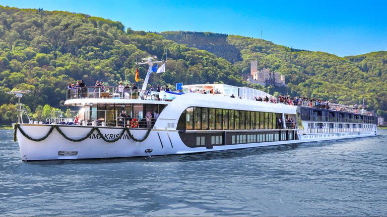 Le Rhin enchanté, à bord du AmaKristina