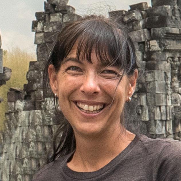 Julie Bergeron - Guide en Indonésie