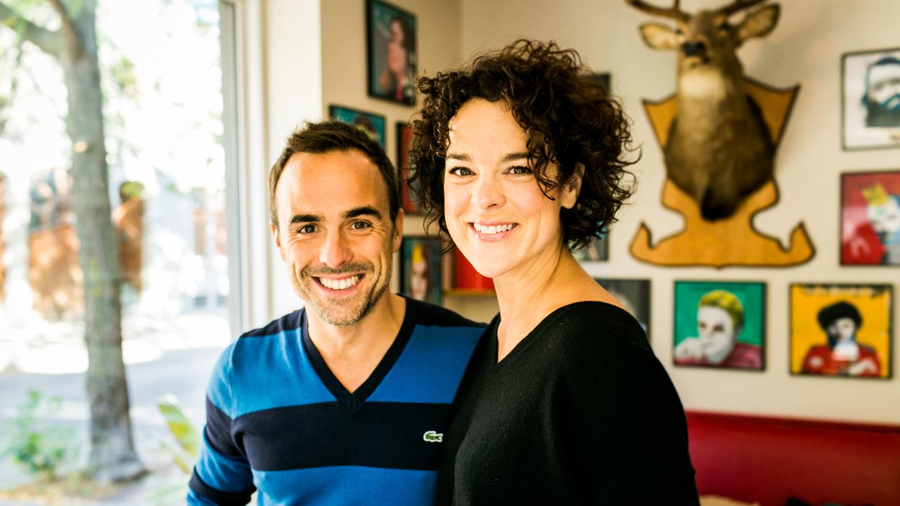 Hélène Bourgeois-Leclerc et Sébastien Benoit