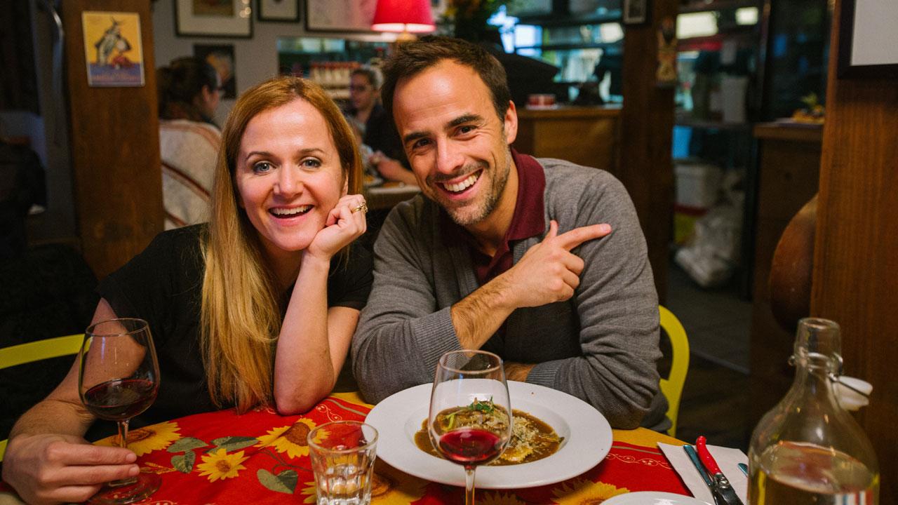 Brigitte Lafleur et Sébastien au Barabouf